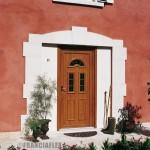Porte d entree menuiserie pvc bordeaux 150x150 - Menuiseries PVC