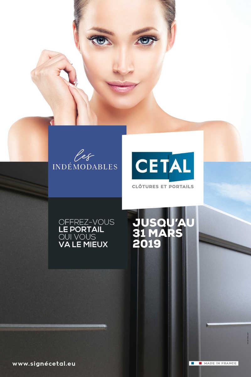 """Affiche WEB Les Indemodables 2019 CETAL - CETAL vous propose ses offres """" INDÉMODABLES 2019 """" !"""